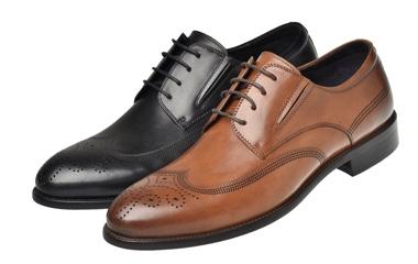經典布洛克皮鞋