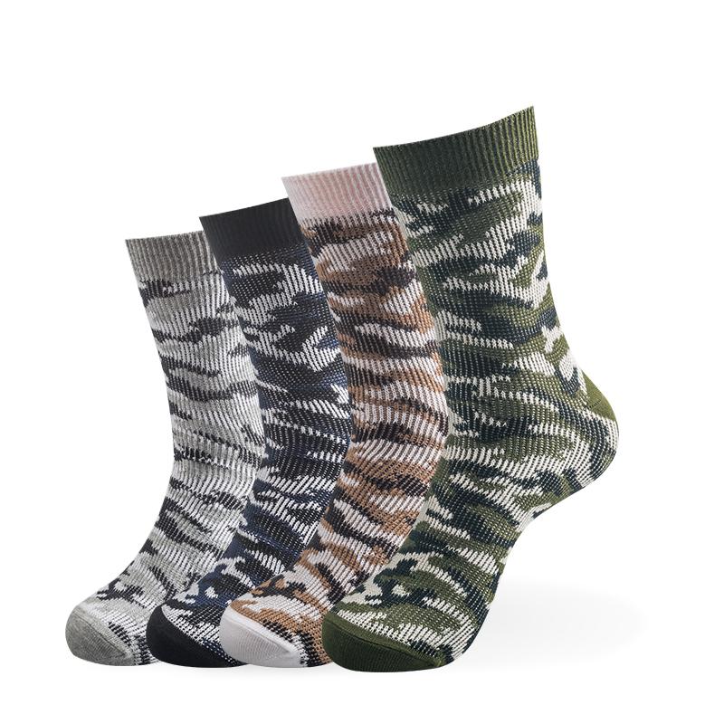迷彩中筒襪 (4雙)
