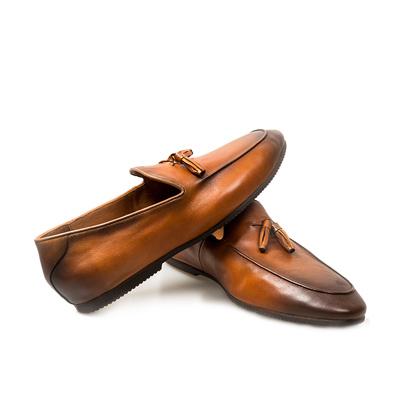 英倫流蘇樂福鞋